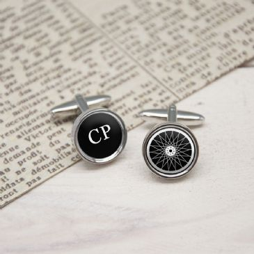 My Bike My Rules Personalised Cufflinks